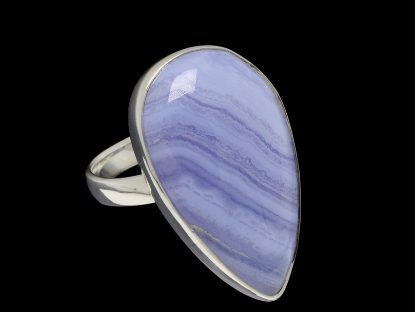 Ring Blue Lace Agate