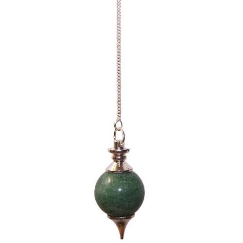 Green Aventurine Sphere Pendulum