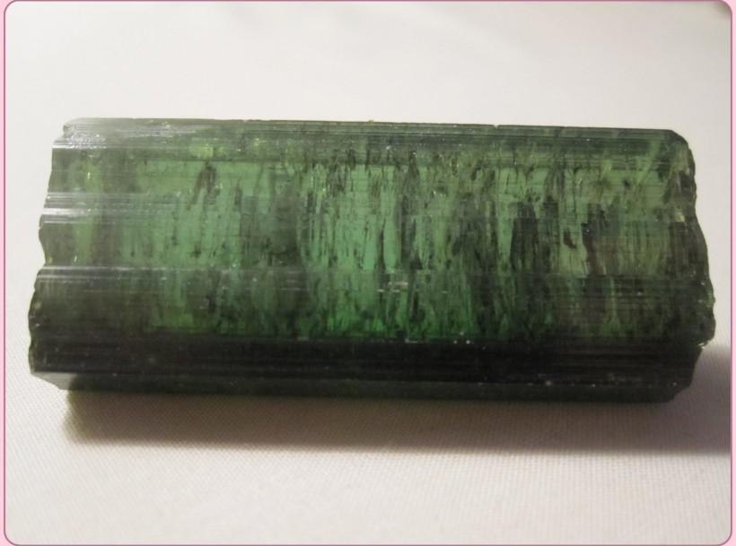 green brazilian tourmaline