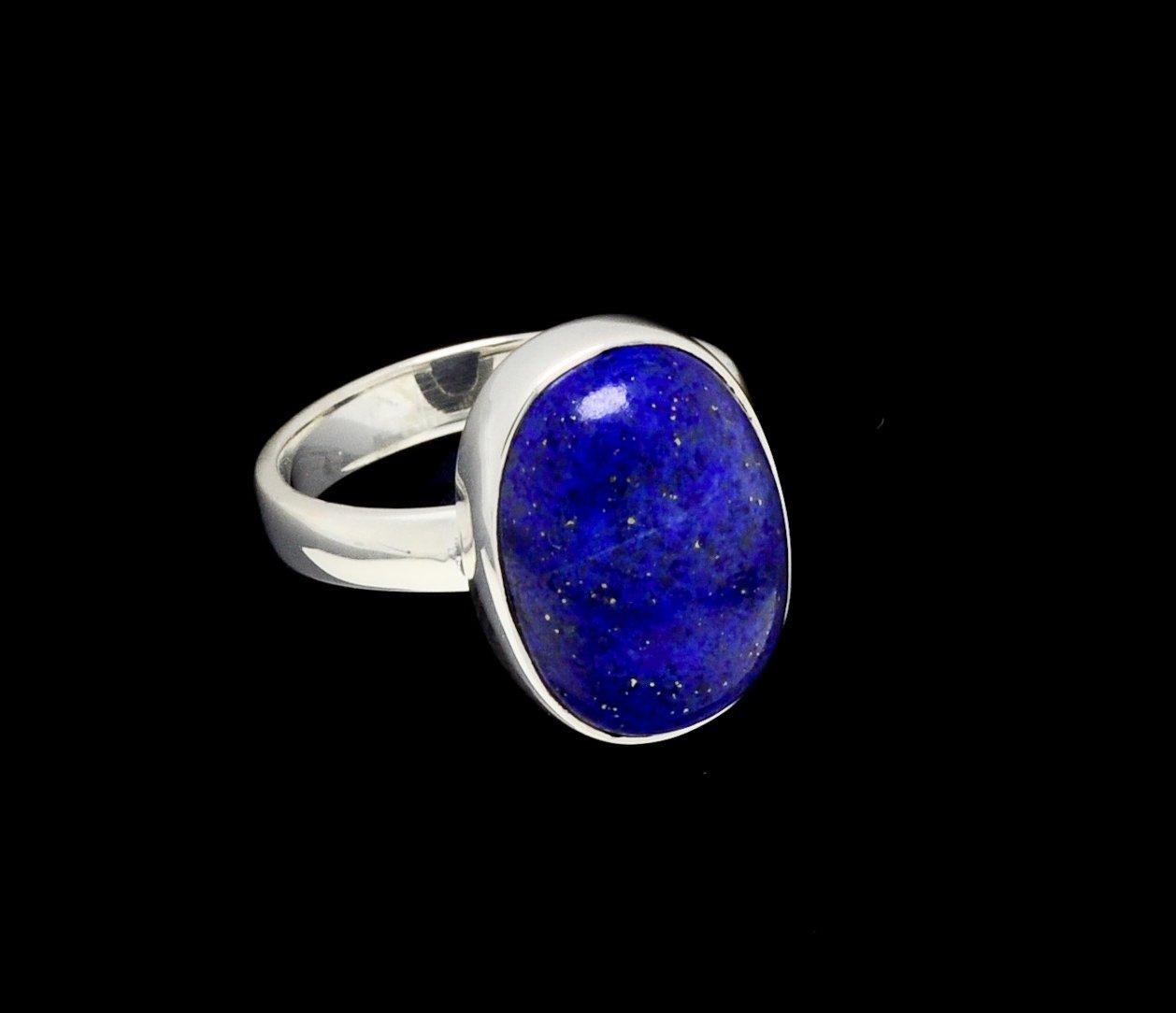 Lapis Lazuli Ring Oval Sl