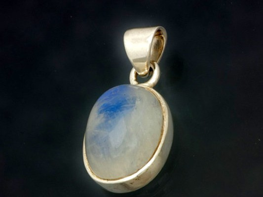 moonstone pendant oval cut 18x14mm