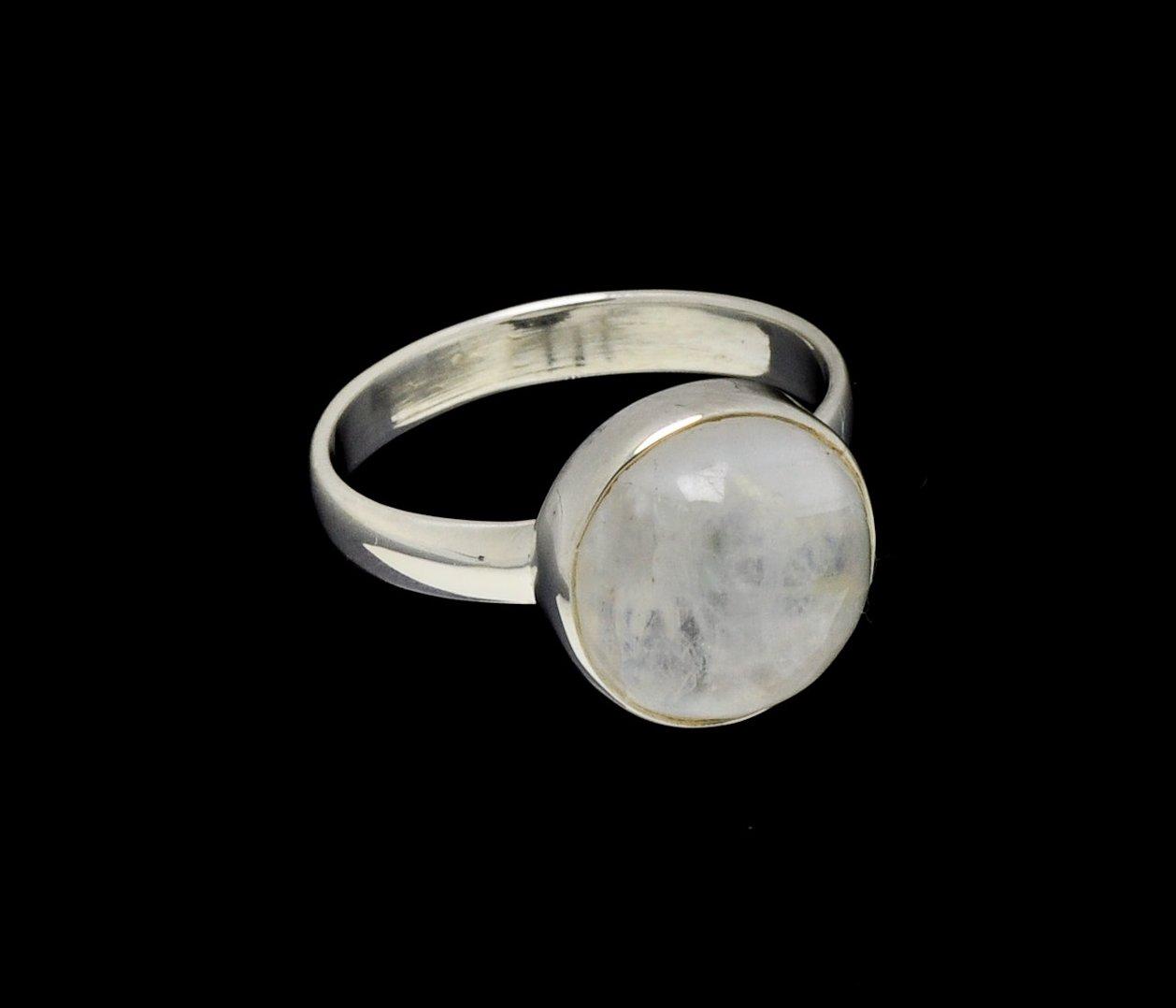 Moonstone Ring round
