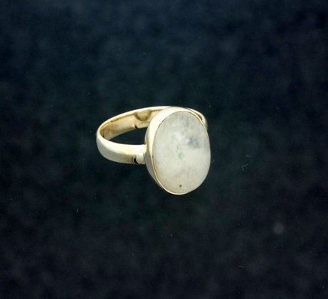 Moonstone Ring oval