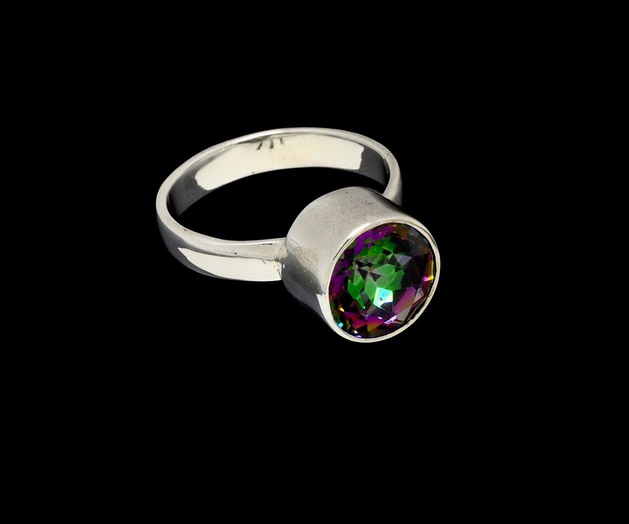 Mystic Topaz Ring Round