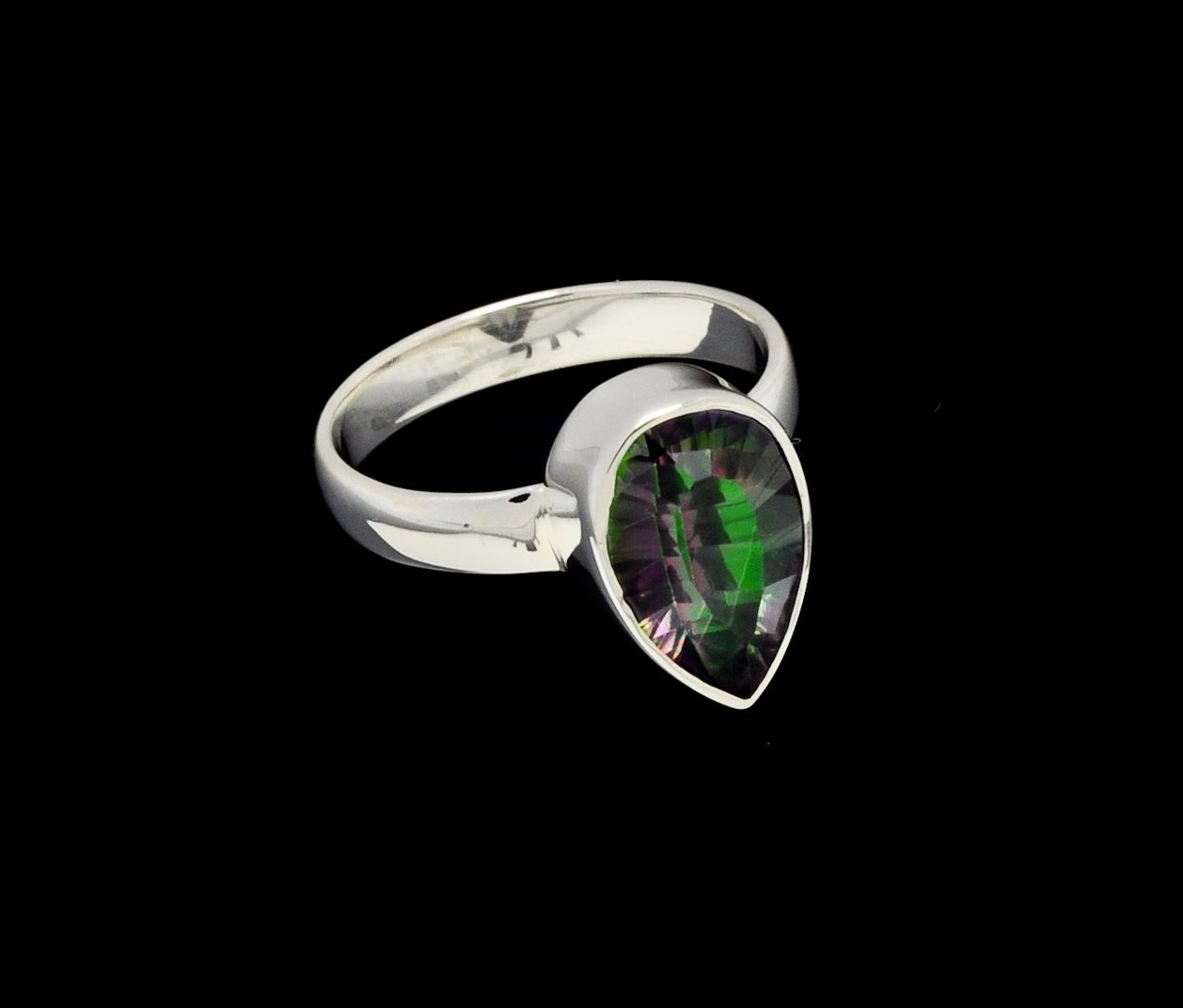 Mystic Topaz Ring Pear