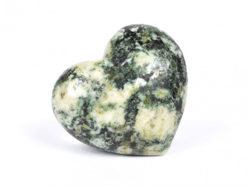 30mm Preseli Bluestone Heart