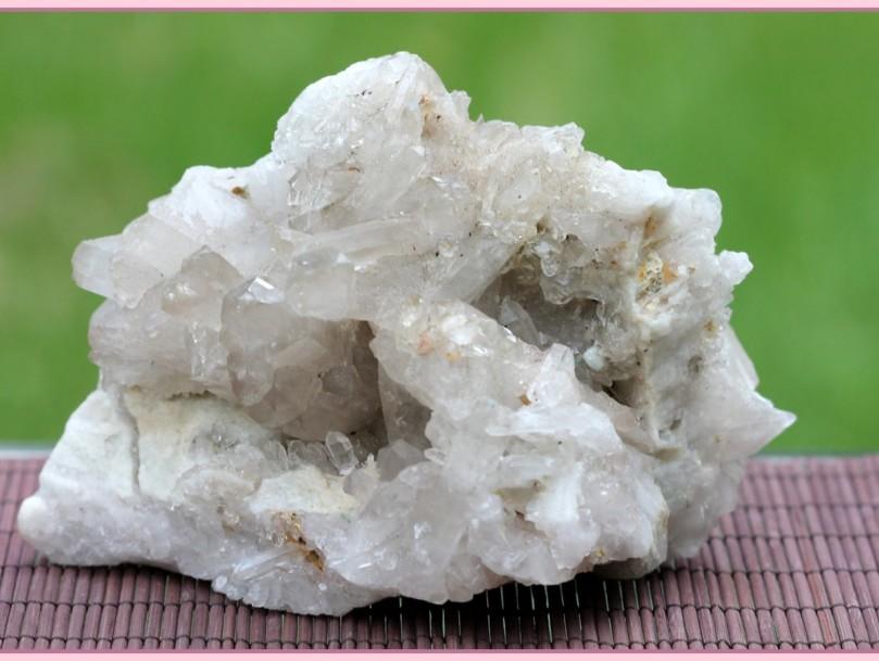 cluster Brazilian quartz (small)