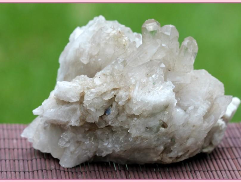small cluster Brazilian quartz