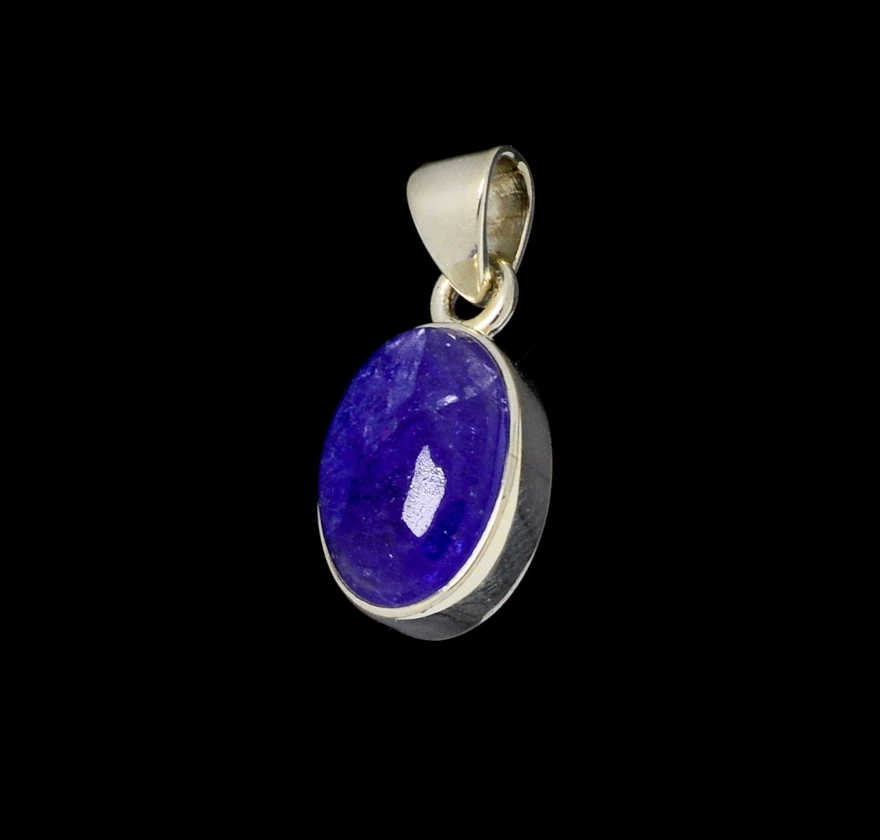 Tanzanite Pendant 15mm x 10mm Oval Cut
