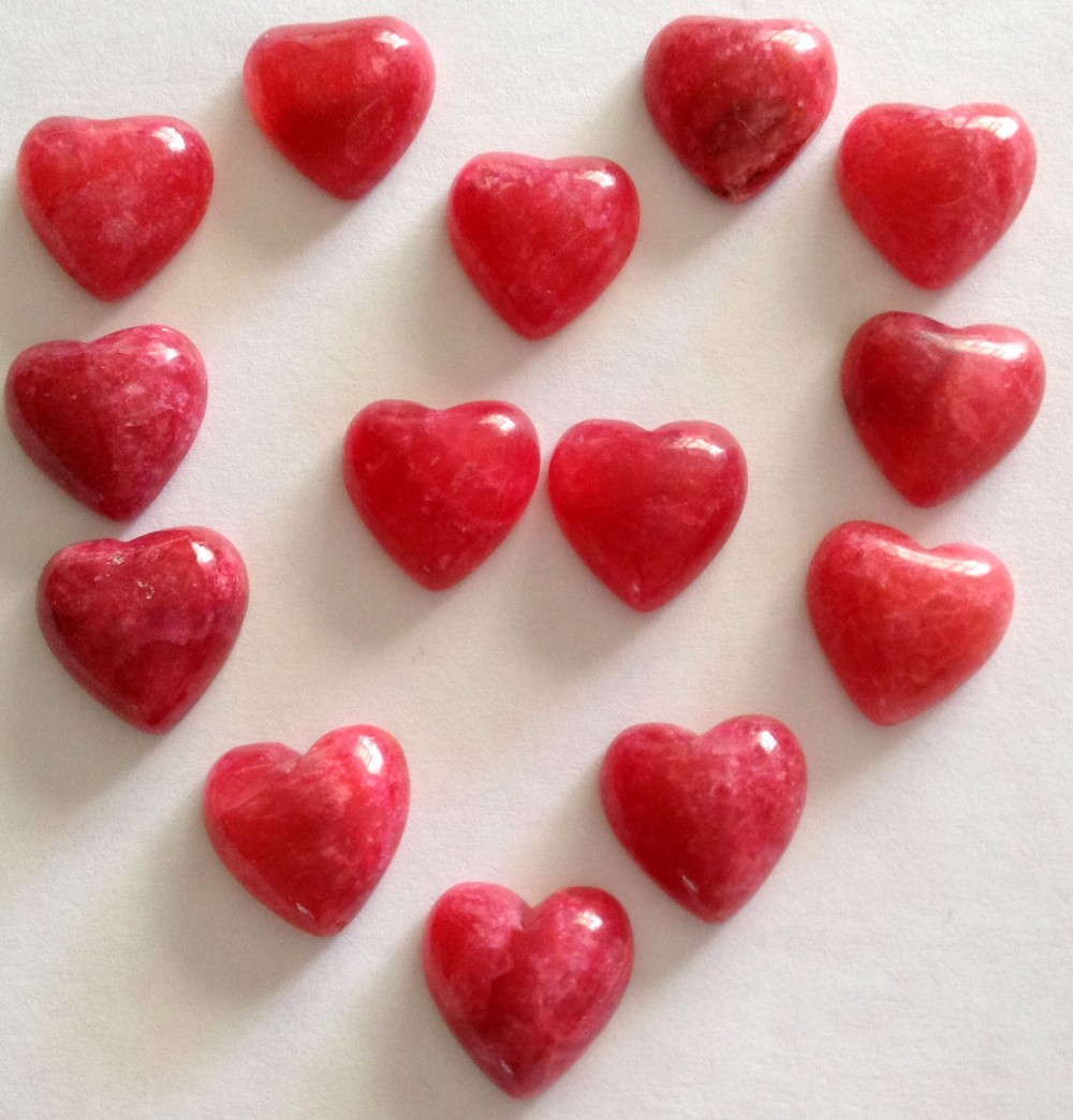 - sorry sold out - Beautiful sweet 'little gemmy' Rhodocrosite hearts From Argentina