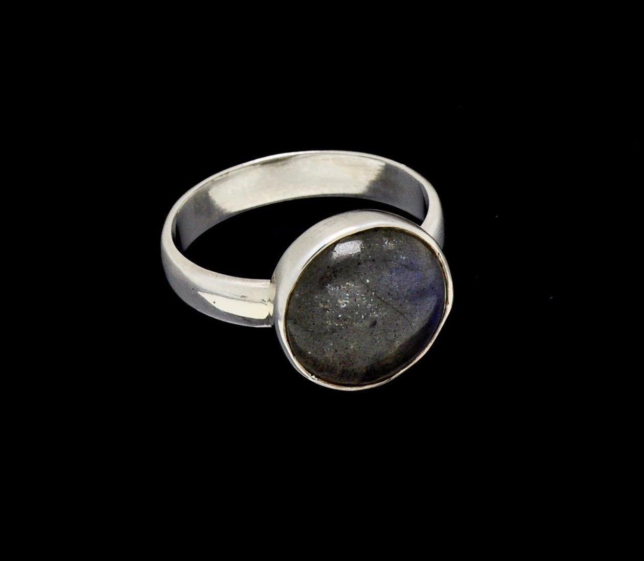 Labradorite Ring Round